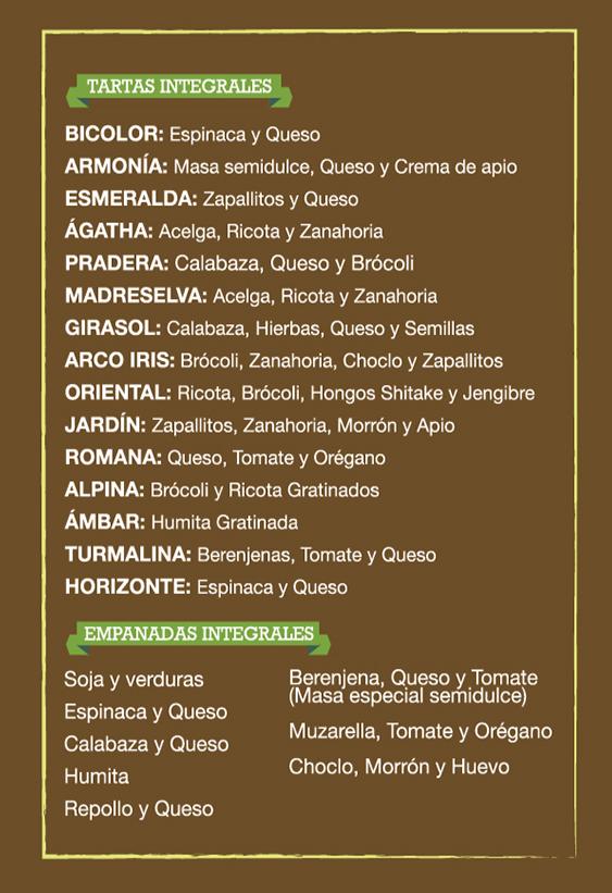 menu medio